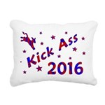 Kick Ass 2016 Rectangular Canvas Pillow