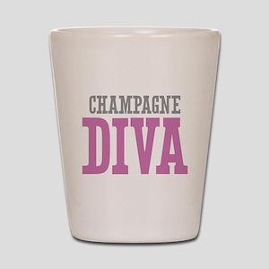 Champagne DIVA Shot Glass