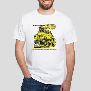 Eat Dirt vintage hot rod custom car T-Shirt