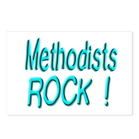Methodists Rock ! Postcards (Package of 8)