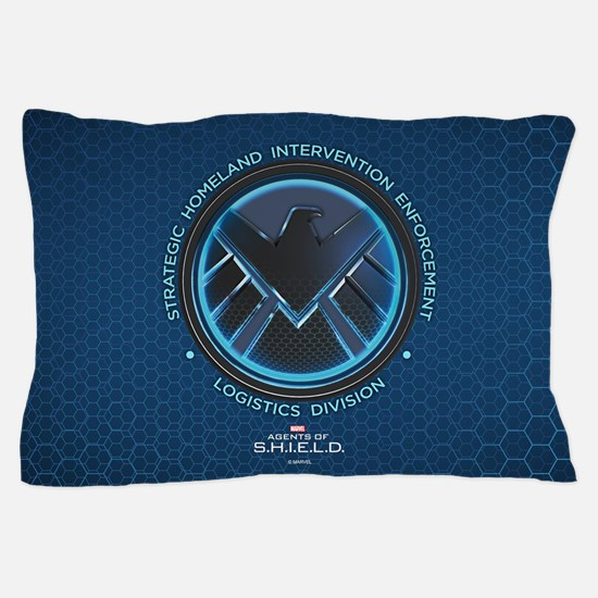 Maos Shield Hex Pillow Case