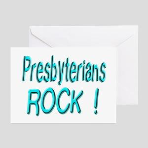 Presbyterians Rock ! Greeting Cards (Pk of 10)