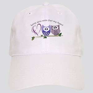 Love you with Owl my heart Cap