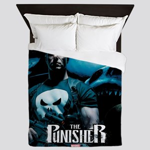 Punisher Sharks Queen Duvet