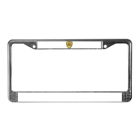 San Bernardino Academy License Plate Frame