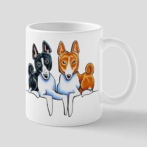 Basenji Buds Mugs
