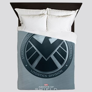 Maos Brushed Metal Shield Queen Duvet