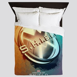Maos Shield Abstract Queen Duvet
