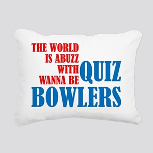 QuizBowlersRB Rectangular Canvas Pillow