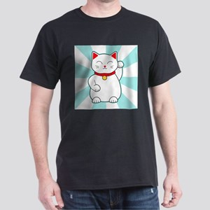 White Lucky Cat T-Shirt