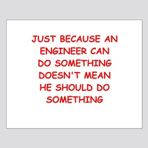 ENGINEER Small Poster