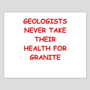 GEOLOGIST Small Poster