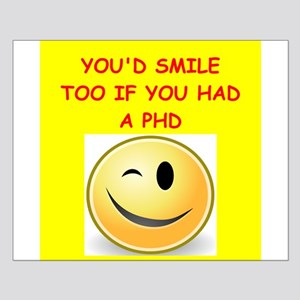 phd joke Small Poster
