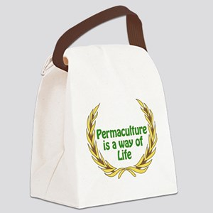Permaculture Is A Way Of Life Canvas Lunch Bag