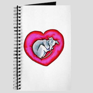 Grey Snuggle Bug Journal