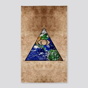 All Seeing All Knowing Area Rug