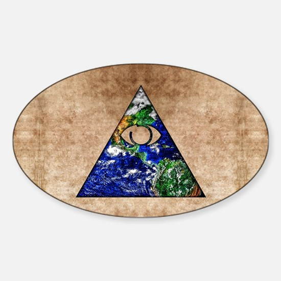 All Seeing All Knowing Decal