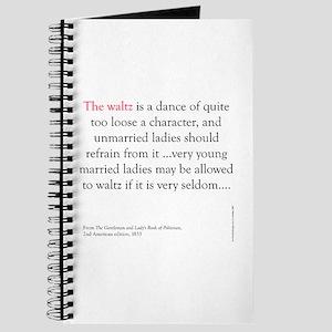 Waltz is a dance Journal