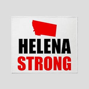 Helena Strong Throw Blanket