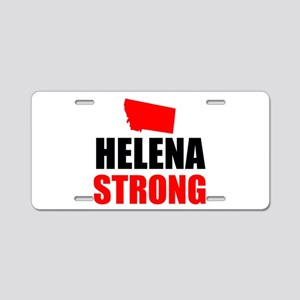 Helena Strong Aluminum License Plate