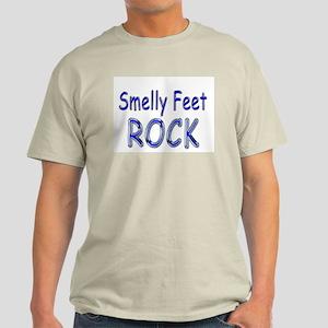 Smelly Feet Rock Light T-Shirt