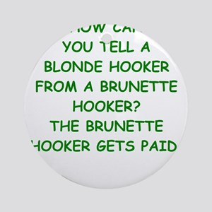 hookers Ornament (Round)