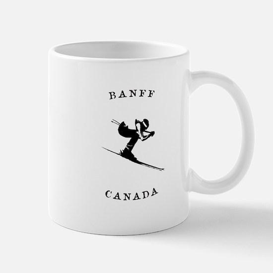 Banff Canada Ski Mugs