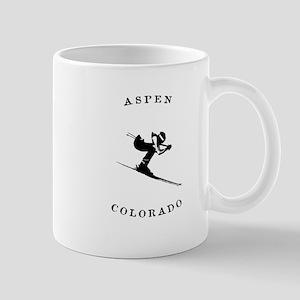 Aspen Colorado Ski Mugs