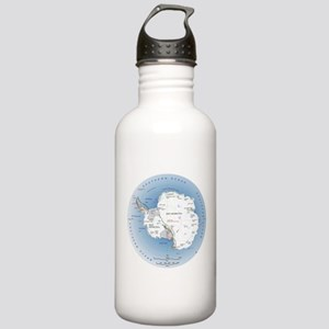 Map Antarctica Stainless Water Bottle 1.0L