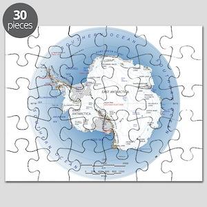 Map Antarctica Puzzle