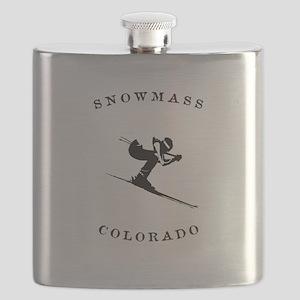Snowmass Colorado Ski Flask
