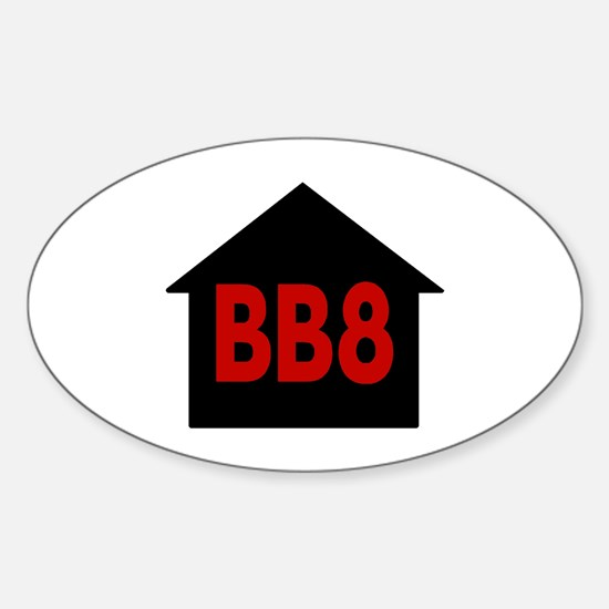 BB8 Oval Decal