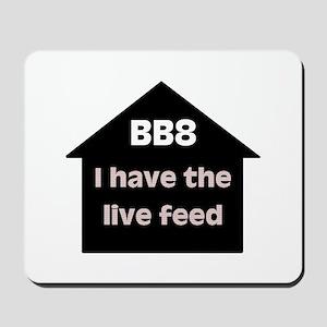 BB8 Live Feed Mousepad