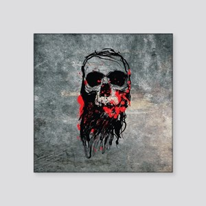 """Deadhead Square Sticker 3"""" x 3"""""""