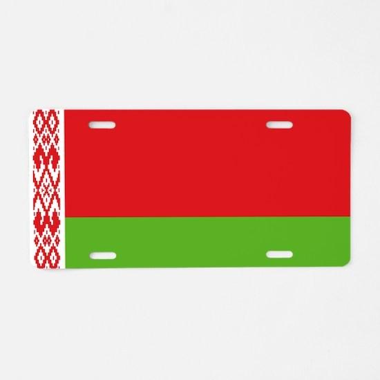 Belarus Aluminum License Plate