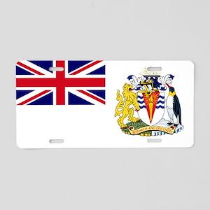 British Antarctic Territory Aluminum License Plate
