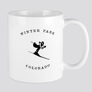 Winter Park Colorado Ski Mugs