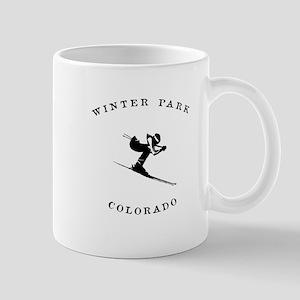 Winter Park Colorado Ski Mugs