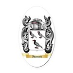 Ivanceic Oval Car Magnet