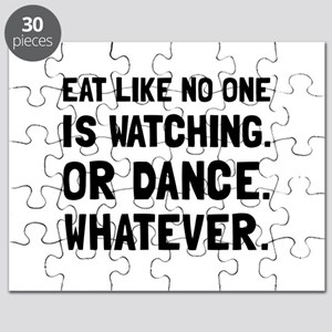 Eat Like No One Is Watching Puzzle