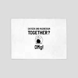 OMG Oxygen Magnesium 5'x7'Area Rug