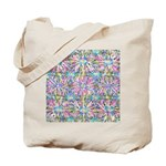 Pastel Bursts 1 Tote Bag