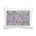 Pastel Bursts 1 Rectangular Canvas Pillow
