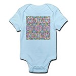 Pastel Bursts 1 Infant Bodysuit