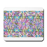 Pastel Bursts 1 Mousepad