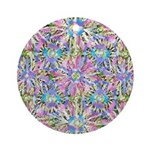 Pastel Bursts 1 Ornament (Round)
