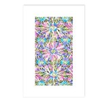 Pastel Bursts 1 Postcards (Package of 8)