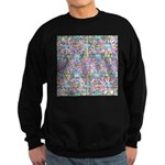 Pastel Bursts 1 Sweatshirt (dark)