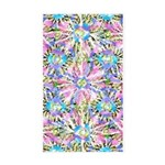 Pastel Bursts 1 Sticker (Rectangle 10 pk)