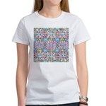 Pastel Bursts 1 Women's T-Shirt